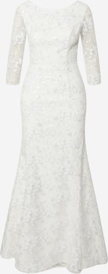 Chi Chi London Večerné šaty 'Krista' - šedobiela, Produkt