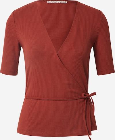 Marškinėliai 'Grace' iš CATWALK JUNKIE , spalva - rūdžių raudona, Prekių apžvalga