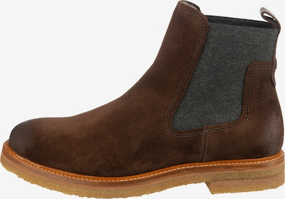 Marc O'Polo Chelsea Boot in braun / kastanienbraun / dunkelgrau, Produktansicht