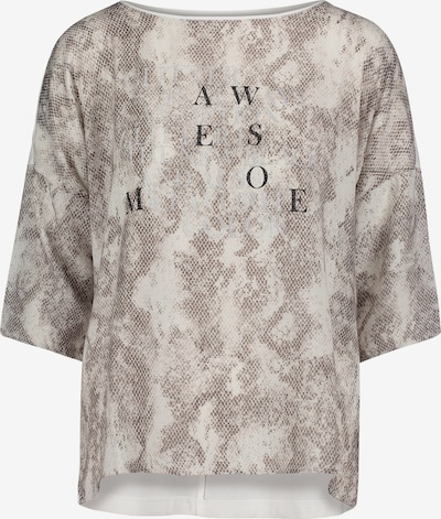 Cartoon Shirt in grau, Produktansicht