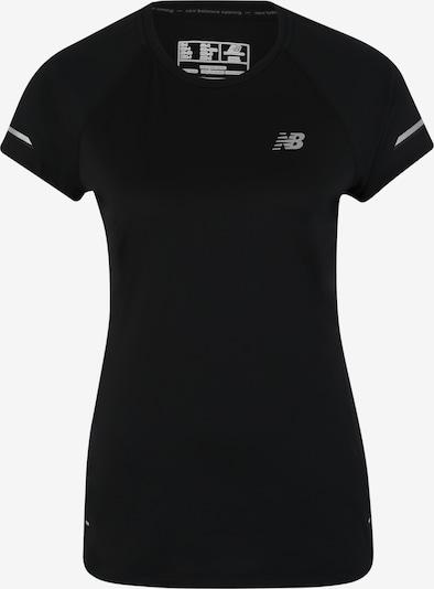 new balance T-shirt fonctionnel 'WT81200' en noir, Vue avec produit