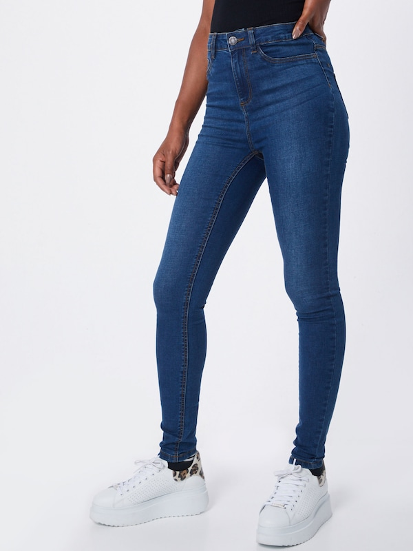 Noisy may Jeans in blue denim, Modelansicht