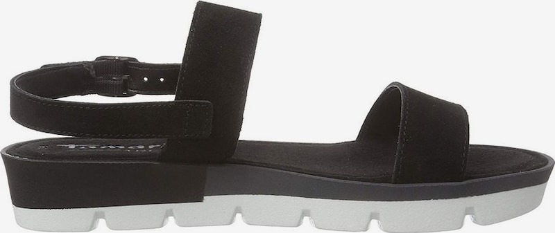 TAMARIS Sandalen met riem in Zwart 6nkNSMwY