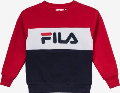 FILA Sweatshirt in blau / rot / weiß, Produktansicht