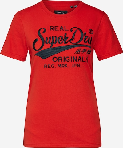 Superdry Tričko 'RO PIPING ENTRY TEE' - červená, Produkt
