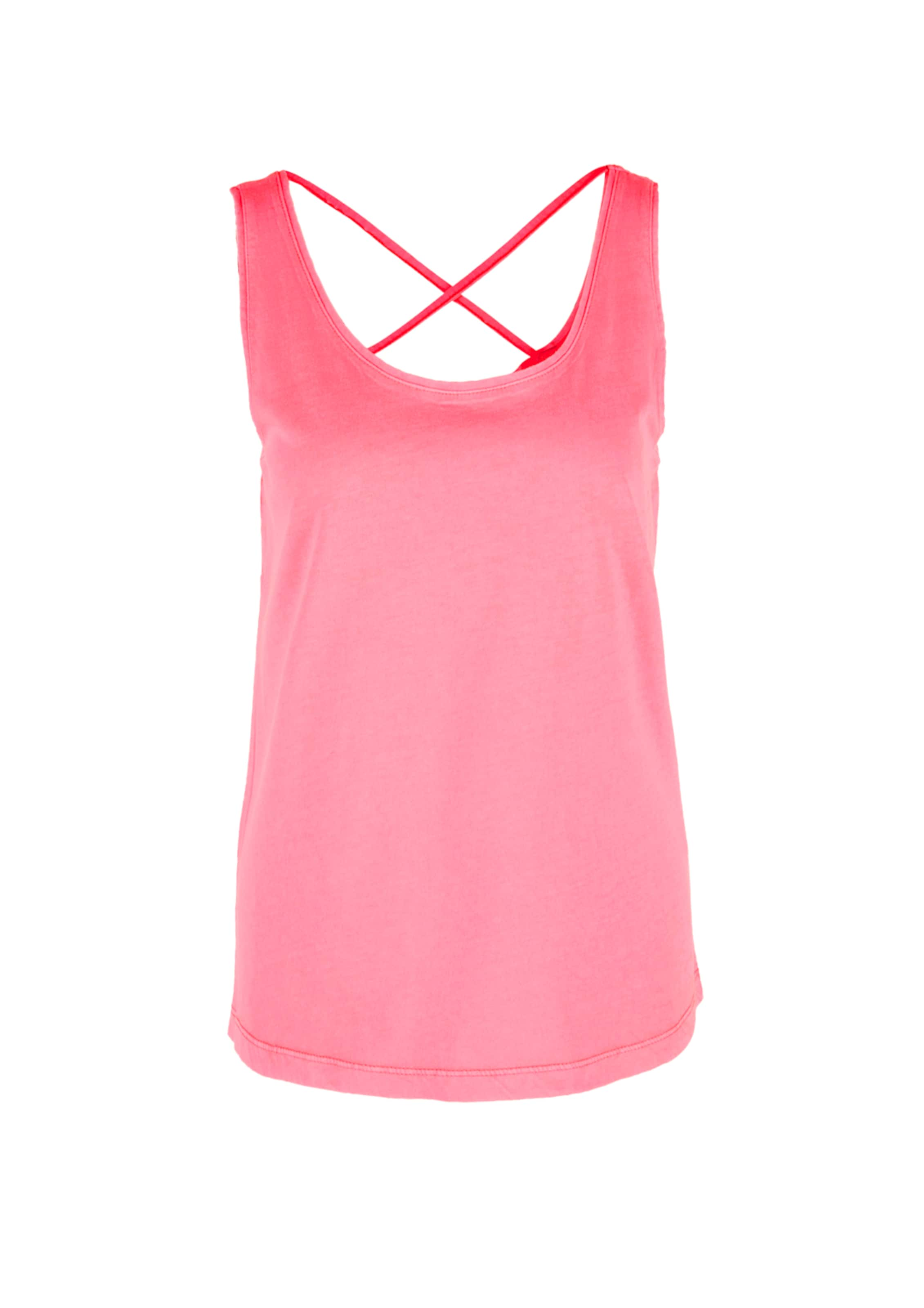 Mit Cross detail Jerseytop oliver S In Hellpink WE9e2IHDY