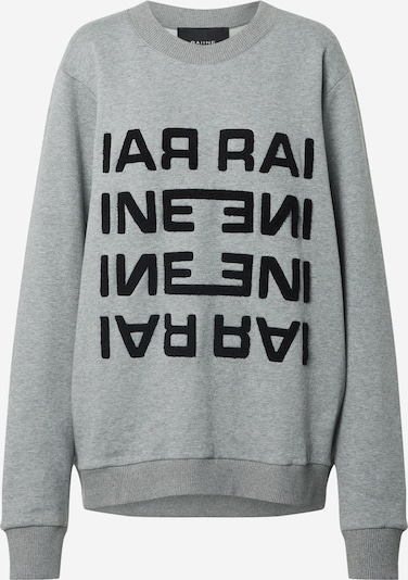 RAIINE Sweatshirt 'Diaz' in grau / schwarz, Produktansicht