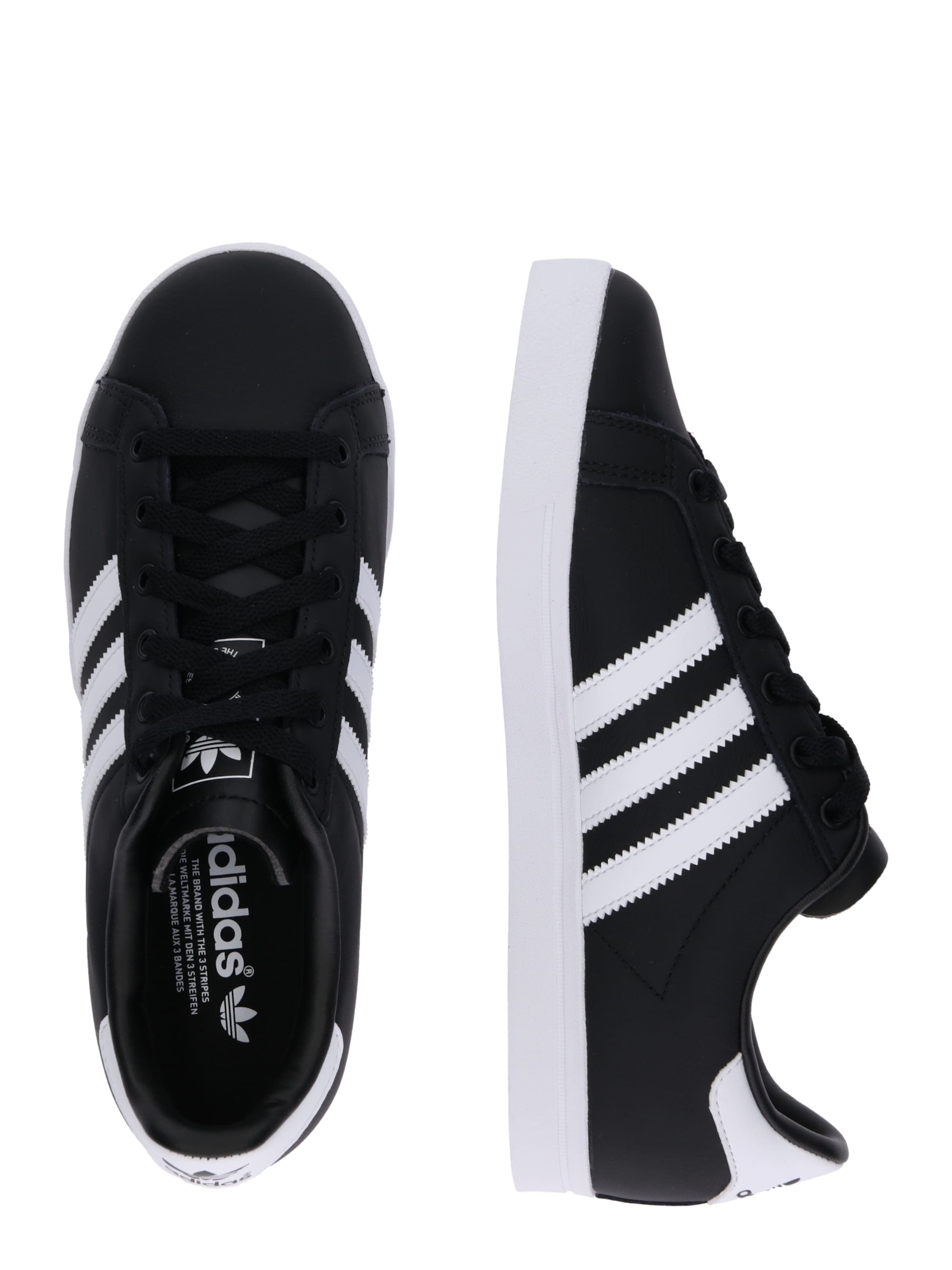 'coast In Star' Sneaker Adidas Originals SchwarzWeiß IE92DHWY