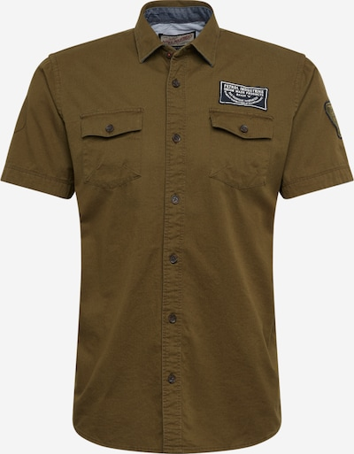 Petrol Industries Hemd in grün / khaki, Produktansicht