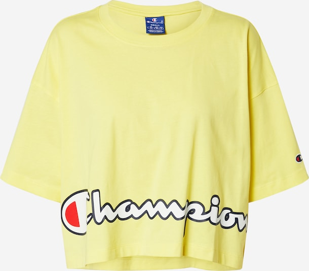 Champion Authentic Athletic Apparel Shirt in de kleur Geel, Productweergave