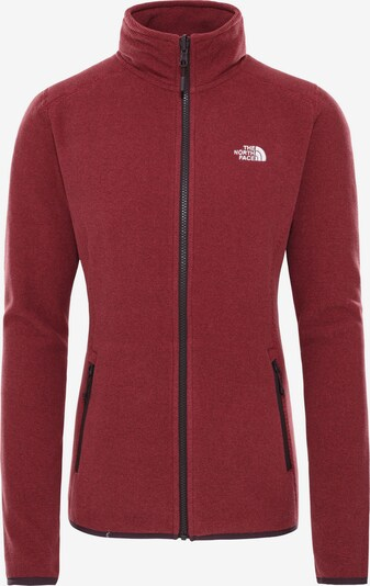 THE NORTH FACE Fleecejacke '100 Glacier' in rot, Produktansicht