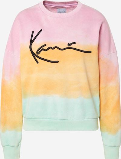 Karl Kani Sweatshirt  'Signature Gradient Crew' in mischfarben / orange, Produktansicht