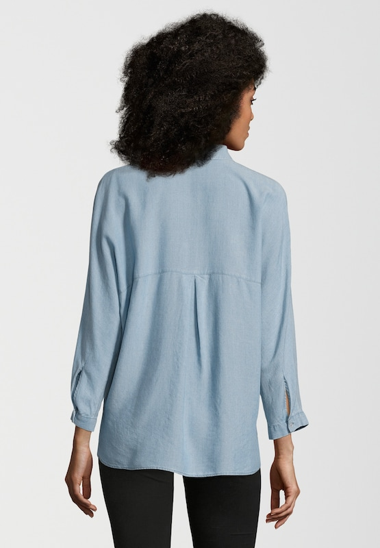 SET Bluse in Denim-Optik
