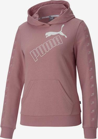 PUMA Sweat de sport 'Amplified' en rose / blanc, Vue avec produit