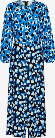 Closet London Robe 'Closet Split Sleeve' en bleu / noir / blanc, Vue avec produit