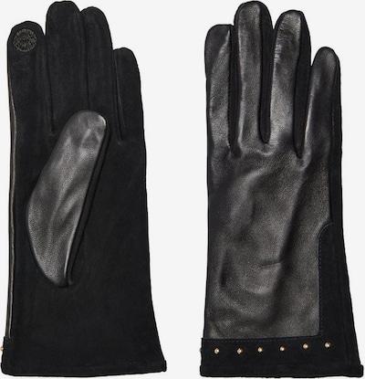 ONLY Vingerhandschoenen in de kleur Goud / Zwart, Productweergave