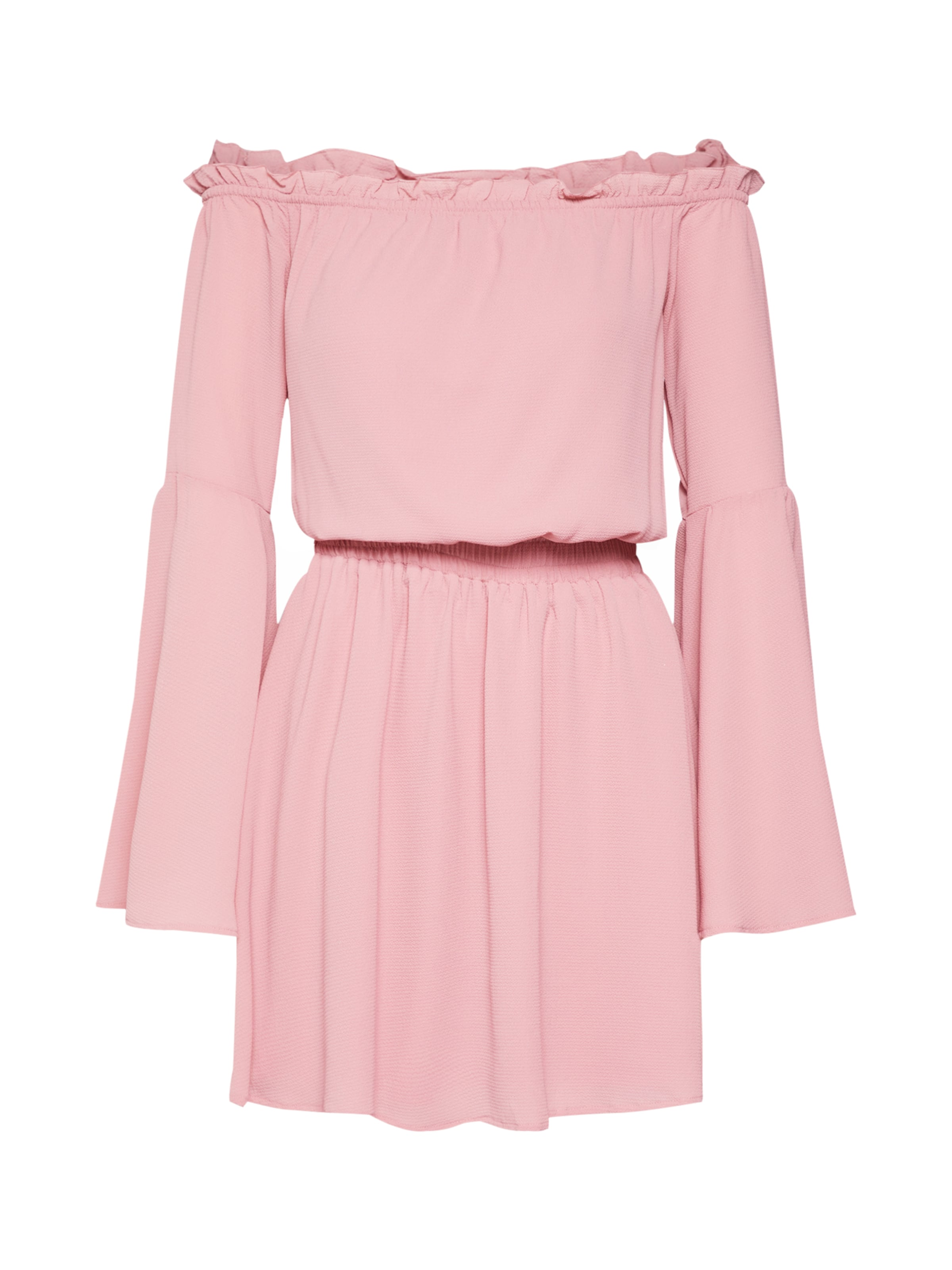 En kd Na Rose Dress Sleeve' Shoulder Robe Wide 'off D'été 8H7gAH