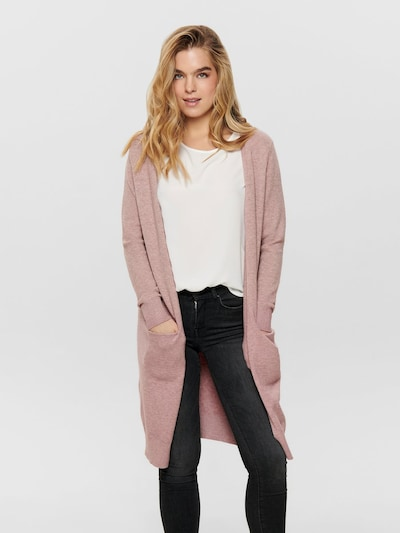 JDY Knit Cardigan 'JDYMARCO' in Pink / Dusky pink, View model