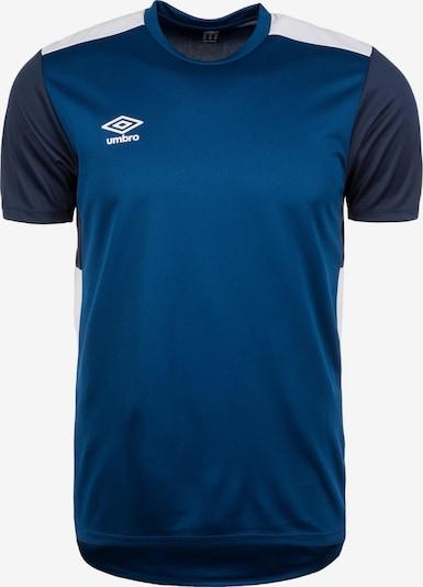 UMBRO Shirt in blau / dunkelblau / weiß, Produktansicht