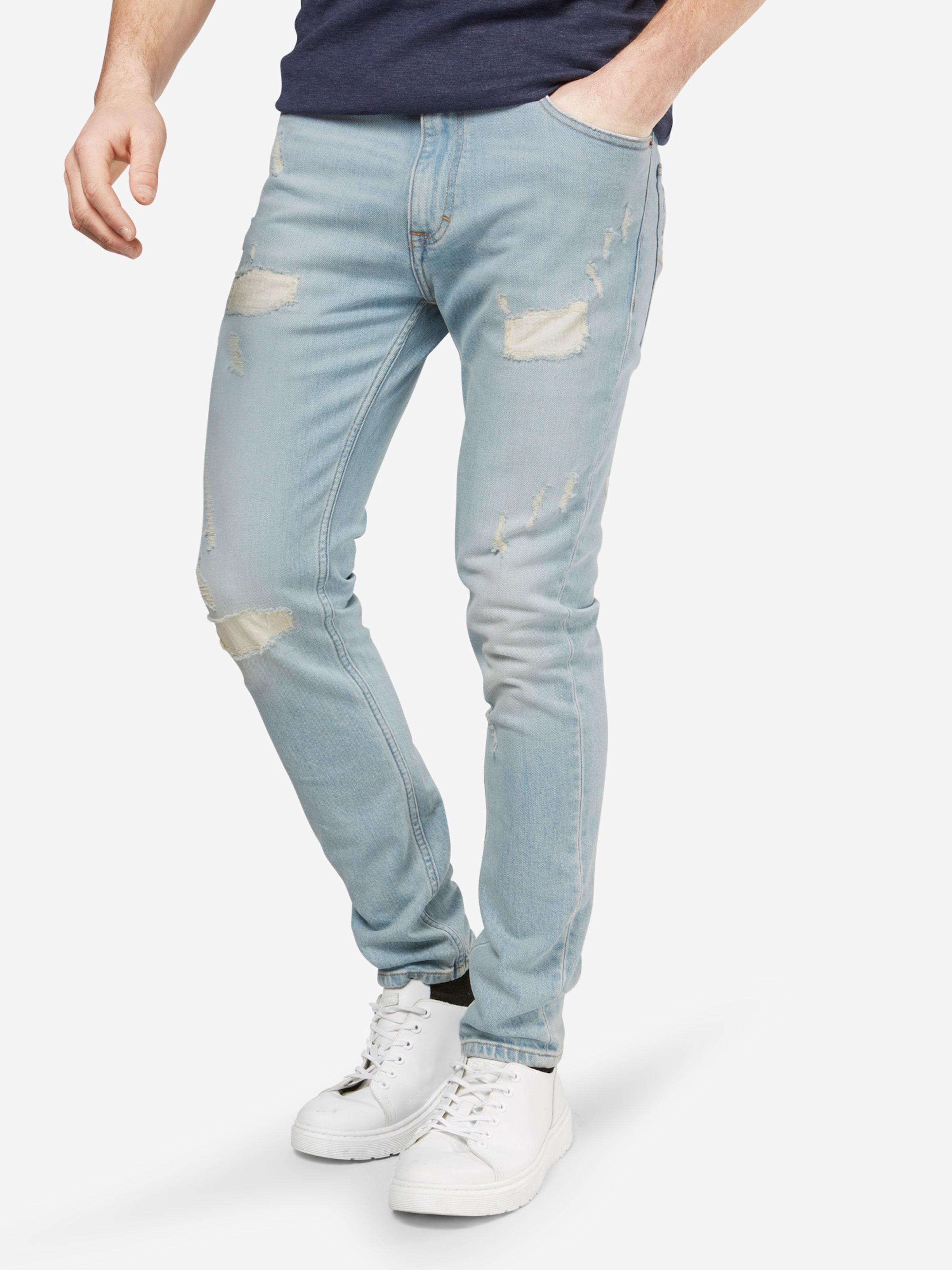 HUGO CMF' Jeans Klein 'SKINNY Calvin DSTR TAPER Jeans BLUE 8xqfXwWwAF