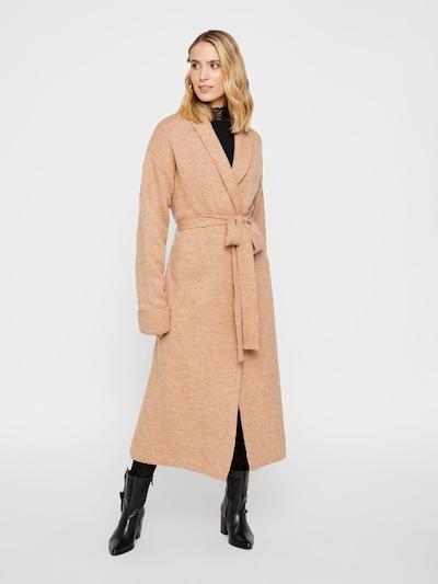 Y.A.S Manteau en tricot en sable, Vue avec modèle