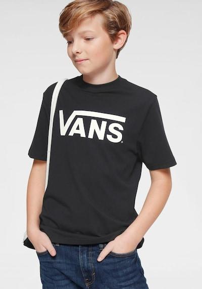 VANS Shirt in schwarz / weiß: Frontalansicht
