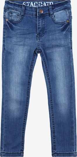 STACCATO Jeans in blue denim: Frontalansicht
