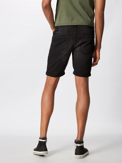 Only & Sons Jeans 'onsPLY' in de kleur Black denim: Achteraanzicht