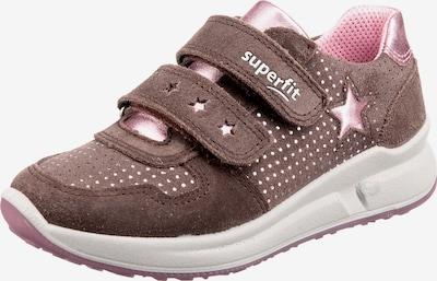 SUPERFIT Sneaker 'Merida' in braun / rosa, Produktansicht