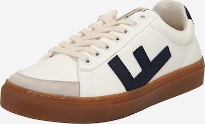 Flamingos' Life Unisex - Sneaker 'CLASSIC 70's kicks' in beige / navy / weiß, Produktansicht