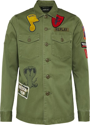 REPLAY Patches Jacke