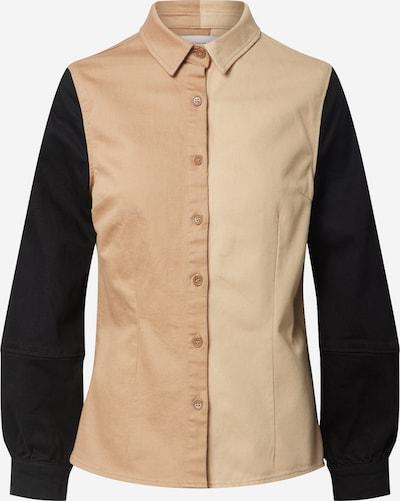 NU-IN Bluse in braun / schwarz, Produktansicht