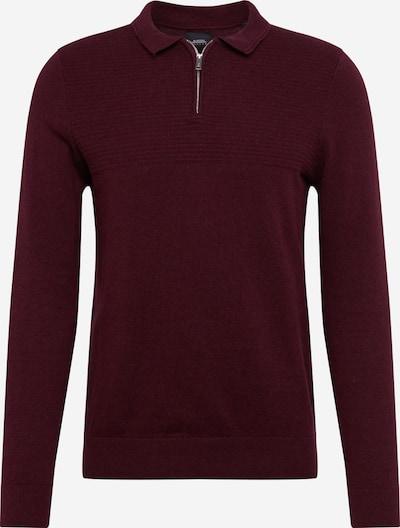 BURTON MENSWEAR LONDON Pullover in burgunder, Produktansicht
