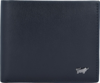 Braun Büffel Portemonnee 'Livorno' in de kleur Zwart: Vooraanzicht