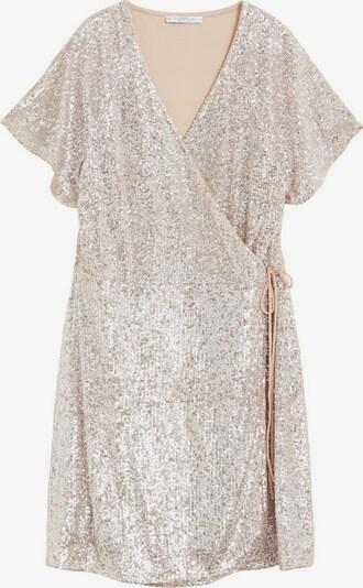 VIOLETA by Mango Kleid in silber, Produktansicht