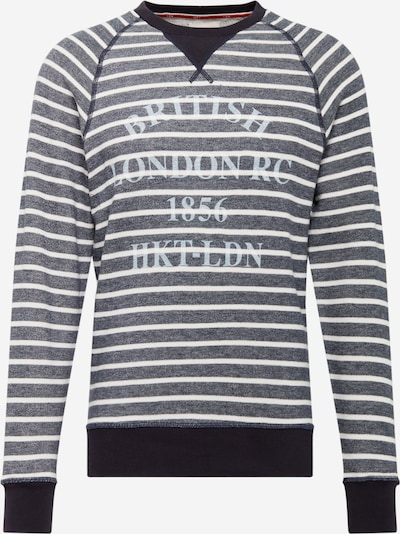HKT by HACKETT Sweatshirt in navy / weiß, Produktansicht