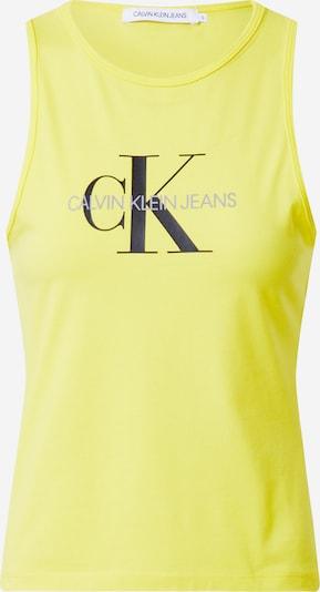 Calvin Klein Jeans Top 'MONOGRAM STRETCH SPORTY TANK' - žlutá, Produkt