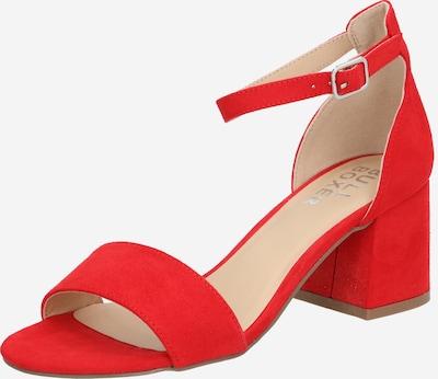BULLBOXER Sandalette in rot, Produktansicht