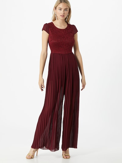 WAL G. Jumpsuit 'WG 8319' in wine red, View model