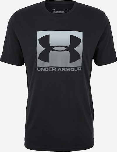 UNDER ARMOUR Functional shirt in light grey / black, Item view