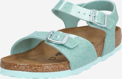 BIRKENSTOCK Sandalen 'Rio' in de kleur Turquoise, Productweergave