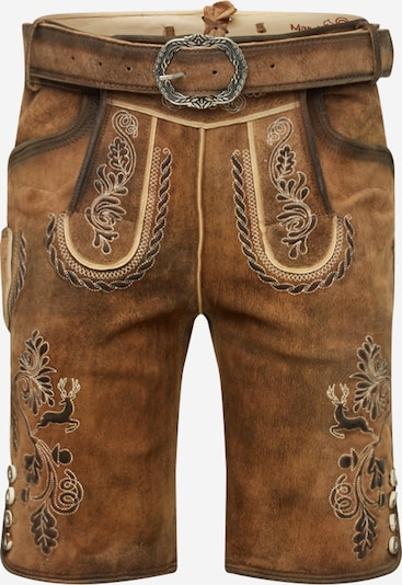 MARJO Klederdracht broek 'Henry inkl. Gürtel' in de kleur Bruin, Productweergave