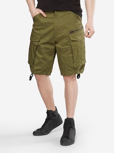 G-Star RAW Shorts 'Rovic' in dunkelgrün: Frontalansicht