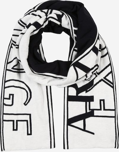 ARMANI EXCHANGE Šála - černá / bílá, Produkt