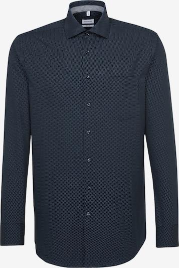 SEIDENSTICKER Zakelijk overhemd in de kleur Smoky blue / Nachtblauw, Productweergave