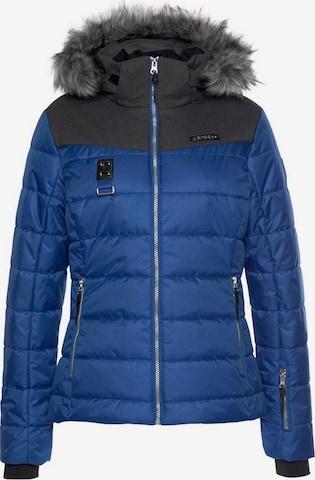 ICEPEAK Athletic Jacket 'Pride' in Blue