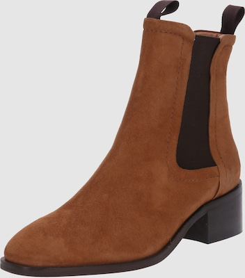ABOUT YOU Chelsea boots 'Amina' in Cognac