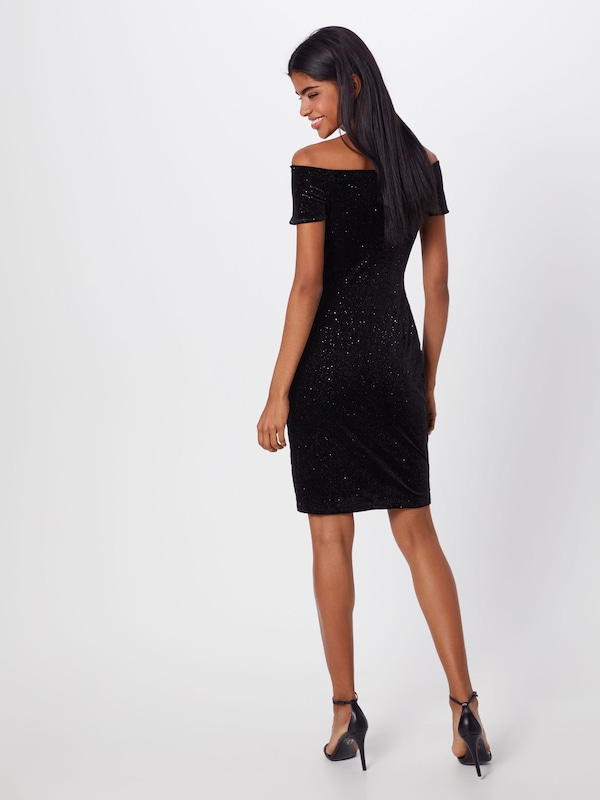 Zwart Mu Dresses By Esprit 'velvet Knitted' Edc Jurk In Dress gymI6vYbf7