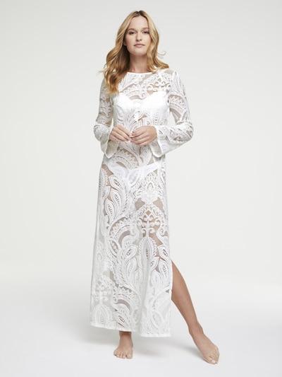 heine Strandkleid in weiß, Modelansicht