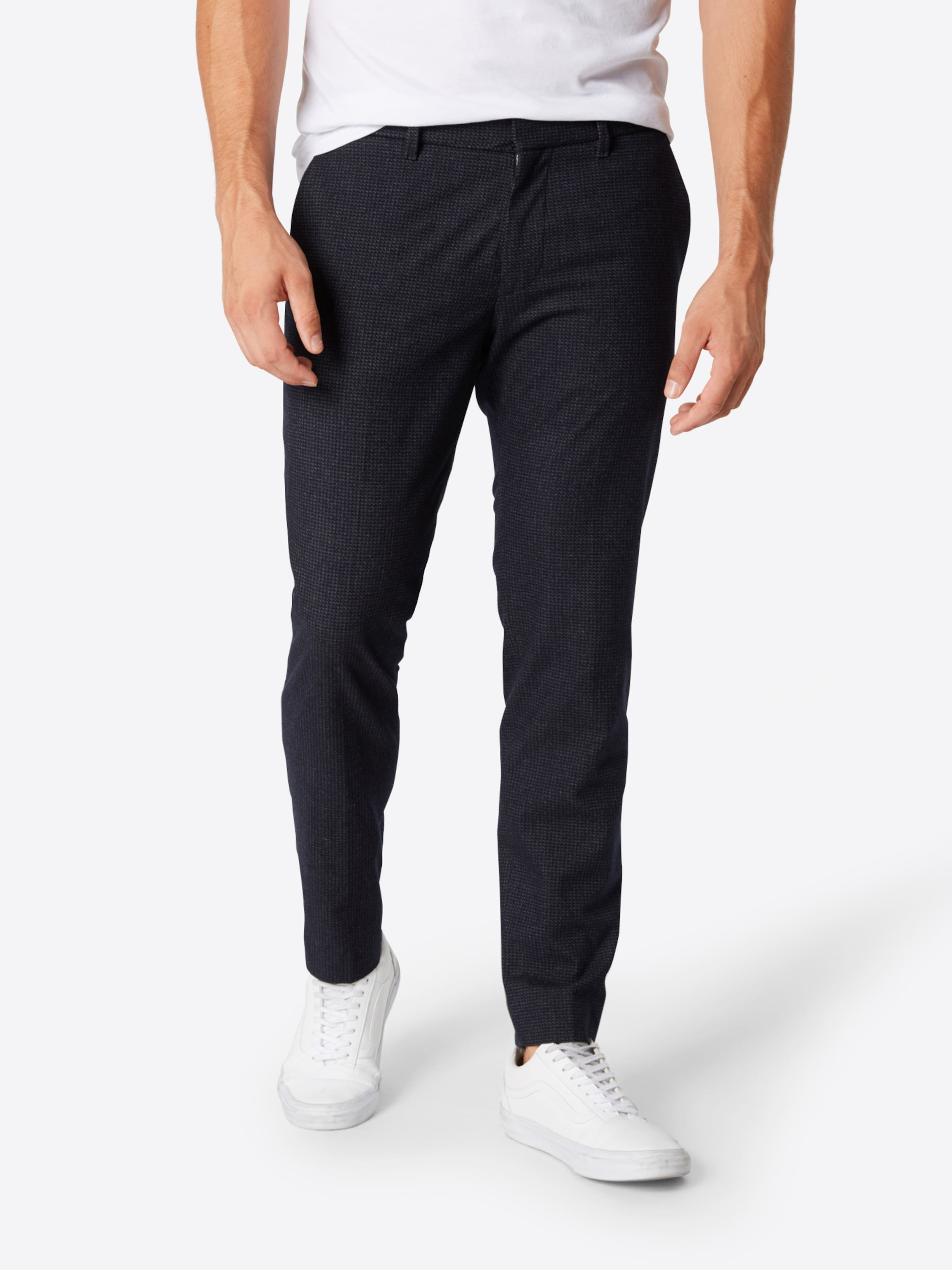 Bleu Plis Pantalon 'sight' À Drykorn Foncé En D2I9WEH
